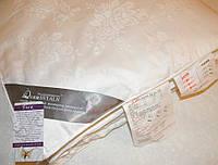 Шелковое одеяло 200х220 в жаккардовом чехле GoldenTex OD-462-1 белое