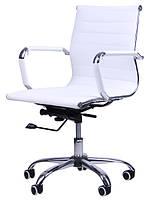 Кресло руководителя Слим LB(ХН-632В) белое