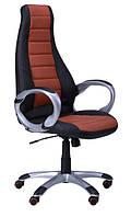 Кресло для руководителя Форс коричневое