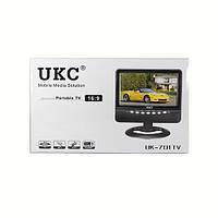 """Портативный телевизор TV USB SD АКБ 7"""" 701"""
