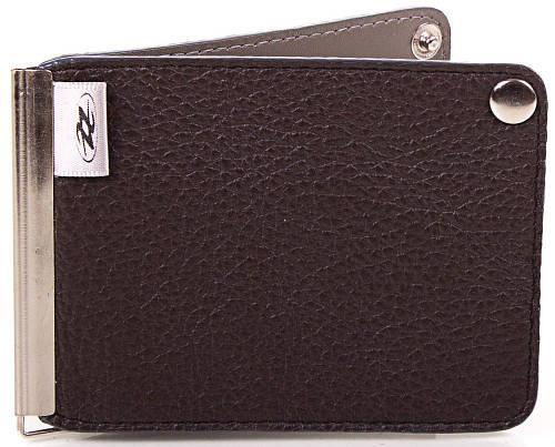 Классический мужской кожаный зажим для купюр Zappa (ЗАППА) Zap1-291-21