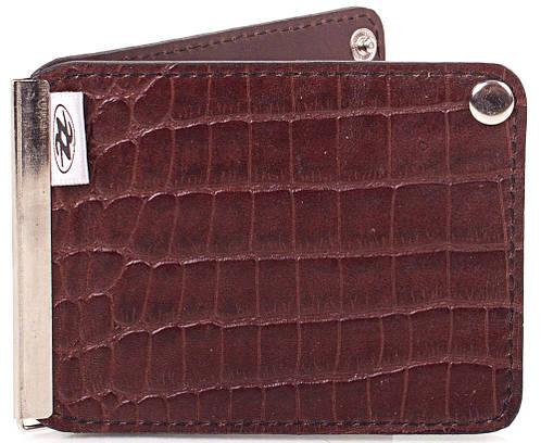 Оригинальный и практичный кожаный зажим для купюр Zappa (ЗАППА) Zap1-291-18