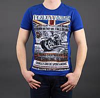 Мужская футболка со стильным рисунком