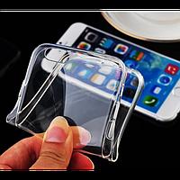 Прозрачный силиконовый чехол для iPhone 6  + пленка!
