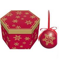 Шары новогодние, в подарочной упаковке 14шт. (HK827)