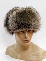 Меховая шапка ушанка мужская из Енота(нат)