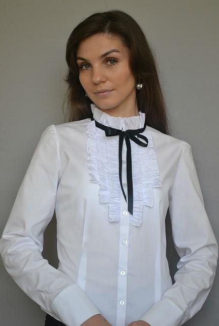 Блузка Белая С Доставкой
