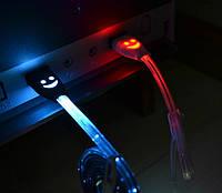Micro USB кабель с LED подсветкой