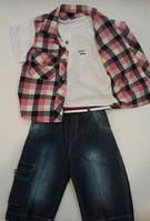 Комплект для мальчика футболка и шорты