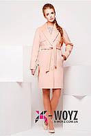Пальто X-Woyz! PL-8622 Персик