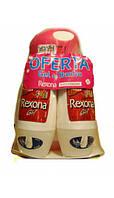 Rexona набор женский 2 дезодоранта роликовых + Гель для душа Friends forever (белый)