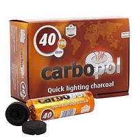 Легковоспламеняющийся уголь Carbopol 40 мм