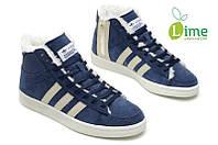 Кроссовки, Adidas Winter Originals blue