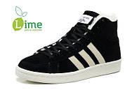 Кроссовки, Adidas Winter Originals black