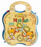 Развивающая игрушка Мозаика 260 элементов Тигрес