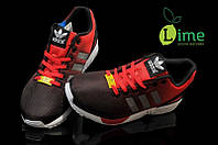 Кроссовки, Adidas ZX Flux Black Red