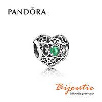 Pandora шарм СЕРДЦЕ-ТАЛИСМАН 791784NRG серебро 925 Пандора оригинал