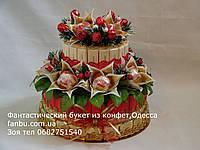 """Торт из шоколада и raffaello""""Новогодний каприз"""""""