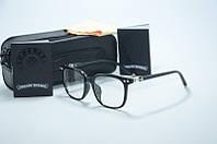 Имиджевые очки, оправа в стиле Chrome Hearts .
