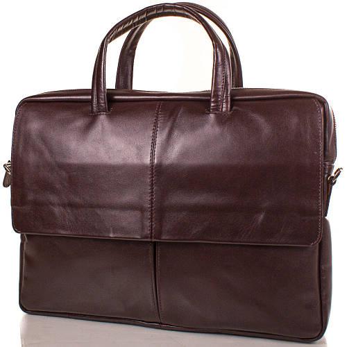 Мужской кожаный портфель KARLET (КАРЛЕТ) SHI5676-10