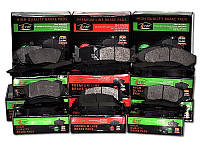 Тормозные колодки MERCEDES SPRINTER (901, 902) 2-T 01/1995-05/2006 (ATE, ШИРИНА 141,3) дисков. задние, QE2004E