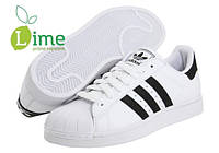 Кроссовки, Adidas Superstar White-Black