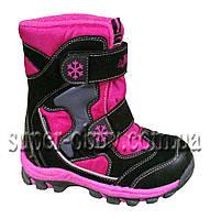 Зимняя термо-обувь на девочку RAY165-202 28-33 р