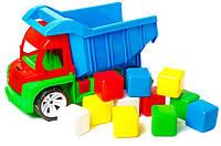 Алєкс грузовик с кубиком маленьким БАМСІК(1/8) ( Ч )