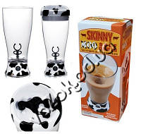 Чашка-миксер Skinny Moo Stirring Mug, кружка миксер, чашка с автоматическим перемешиванием для коктейлей