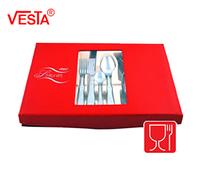 Набор столовых приборов 24 шт Vesta VS-5024S