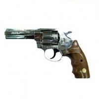 Револьвер под патрон Флобера ALFA model 461 (никель, дерево)