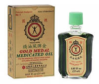 Лечебное масло Gold medal medicated oil singapore 3мл
