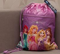 Сумочка для сменки с доп. карманом Princess