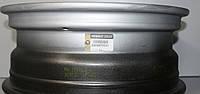Диск колесный стальной (серый) Опель виварО Рено Трафик после 2001года  6Jx16 Renault — 8200570331 оригинал