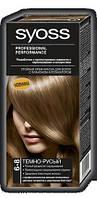 Палитра цветов краски для волос Syoss 6-8 Темно-русый