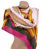 Элегантный широкий теплый шарф женский 190х90 вискоза A2633-10