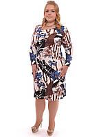 Нарядное женское платье Ирен,размеры 48-62,модель ДК 163