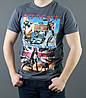 Принтированная мужская футболка