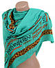 Эксклюзивный широкий теплый шарф женский 190х90 вискоза A2633-11