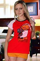 "Женская пижама ""Гарфилд"", размер S/M"