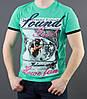 Красивая принтированная футболка