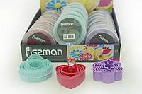 Набор из 5 формочек для вырезания печенья разных размеров - 3 формы в ассортименте (пластик)