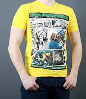 Яркая качественная летняя футболка