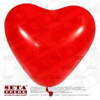 Воздушный шарик Красное Сердце