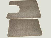 Коврик для ванной (ковролин) 2шт в наборе (1-50х55) (2-44.5х70)