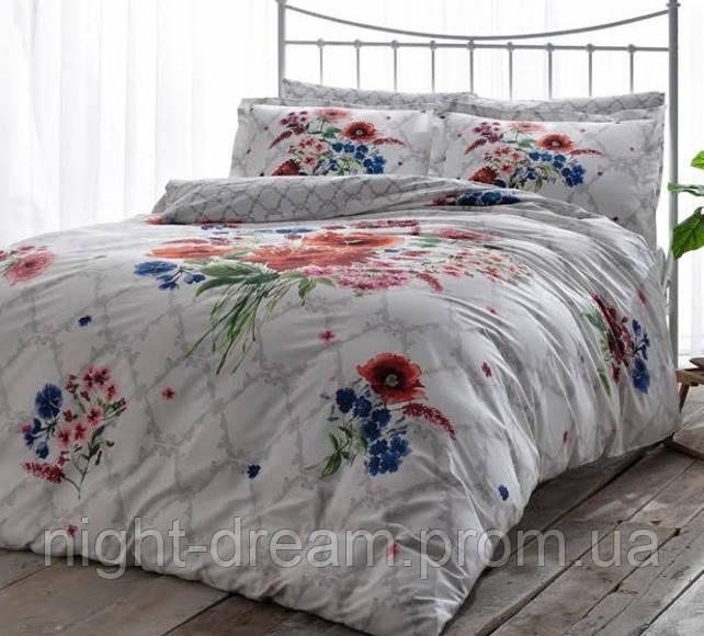 Комплект постельного белья TAC Сатин де люкс SELBY V01