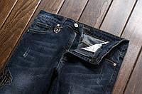Модные и красивые мужские джинсы Versace. Купить стильные джинсы. Интернет магазин джинсов. Код: КЕ364