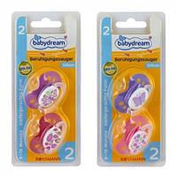 Соска детская силиконовая Babydream 2 6-18 місяців, 2 шт