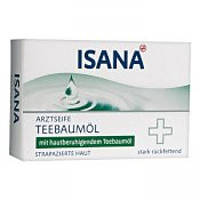 Твердое мыло ISANA Teebaumol медицинское, 100 гр
