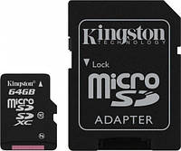 Карта памяти Kingston 64 GB microSDXC class 10!!!